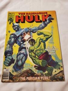 Rampaging Hulk 2 VF cover art by cover art by Ken Barr