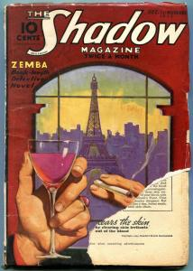 The Shadow Pulp December 1 1935- ZEMBA- reading copy
