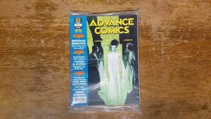 Advance Comics # 62 February 1994 w/ Card Preview Book Universal Monsters BW1