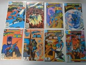 World's Finest Superman Batman lot 26 diff from:#85-322 avg 8.5 VF+ (1982-85)