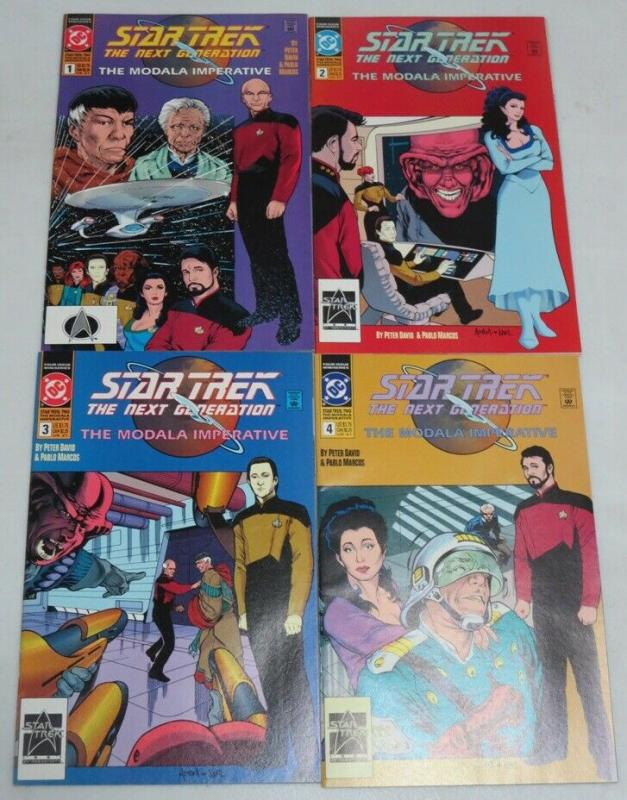 STAR TREK NEXT GENERATION MODALA IMPERATIVE (1991) 1-4