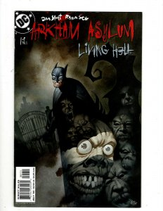 Batman Arkham Asylum Complete DC Comics Ltd Series # 1 2 3 4 5 6 Joker Robin HR8