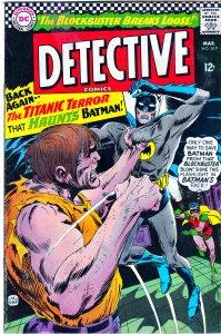 Detective Comics(vol. 1) # 349   Future Suicide Squad member, Blockbuster !