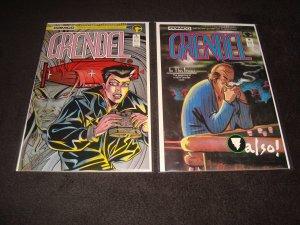 LOT OF 13 COMICO COMICS (1985-1996) GRENDEL, ESCAPE, ROBOTECH, ROCKETEER
