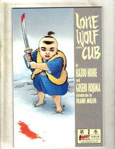9 Lone Wolf & Cub First Publishing Comic Books # 2 13 14 24 32 34 35 36 43 SB5
