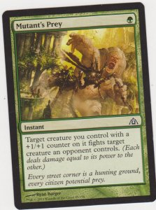Magic the Gathering: Dragon Maze - Mutant's Prey