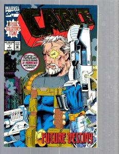 12 Marvel Comics Cable # 1 2 3 4 6 7 10 11 12 13 14 15 EK17