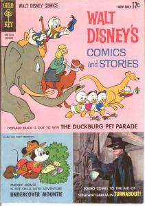 WALT DISNEYS COMICS & STORIES 277 VG-F  Oct. 1963 COMICS BOOK