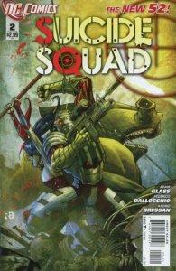 Suicide Squad #2 (VF/NM) 2011 DC Comics ID#000