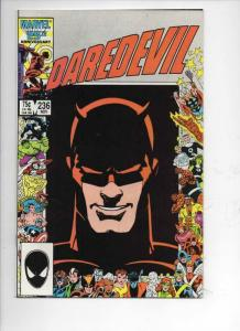 DAREDEVIL #236 NM-  Murdock, Barry Smith, 1964 1986, more Marvel in store