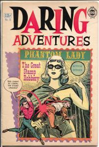 Daring Adventures #12 1963-Super-Phantom Lady-Matt Baker-Good Girl Art-FN