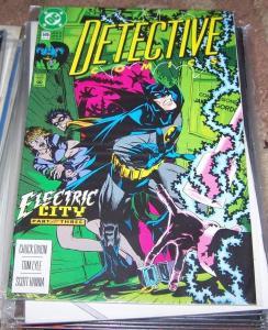 DETECTIVE COMICS  # 646 BATMAN   1992 DC  ROBIN  DC  GALVAN GOTHAM