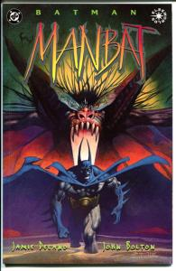 MANBAT #1 2 3, NM+, Batman,  John Bolton, Jamie Delano, 1995, more BM in store