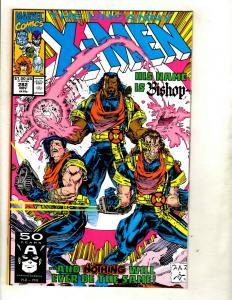 (Uncanny) X-Men # 282 NM Marvel Comic Book Cyclops Beast Iceman Wolverine GK4