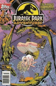 Jurassic Park Adventures #3 VF/NM; Topps   save on shipping - details inside
