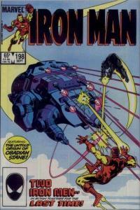 Iron Man (1968 series) #198, VF+ (Stock photo)
