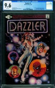 Dazzler #1 CGC 9.6 First issue 1981- Marvel Comics- 1994929021