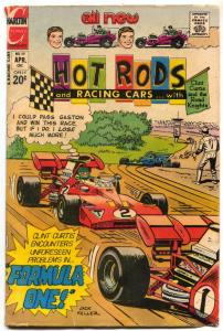 Hot Rods and Racing Cars #119 1973- Charlton Comics G-