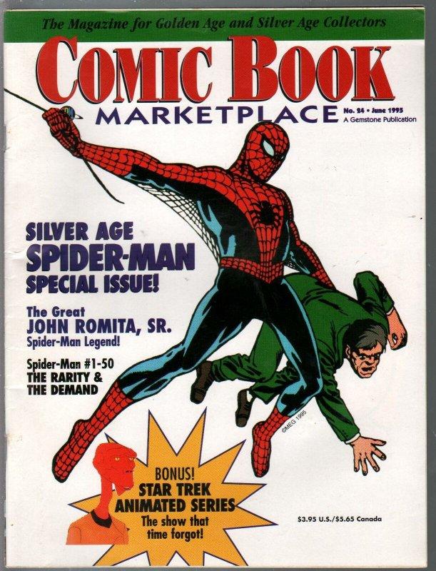 Comic Book Marketplace #24 1995-Spider-man-John Romita Jr.-VF