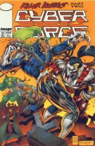 Cyberforce (1993 series) #2, NM (Stock photo)