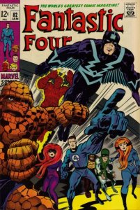 Fantastic Four #82 (ungraded) stock photo / SCM
