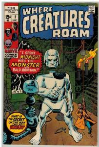 WHERE CREATURES ROAM 2 F+ Sept. 1970