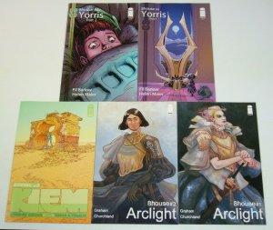 8House #1-5 VF/NM complete series - brandon graham - arclight yorris set 2 3 4