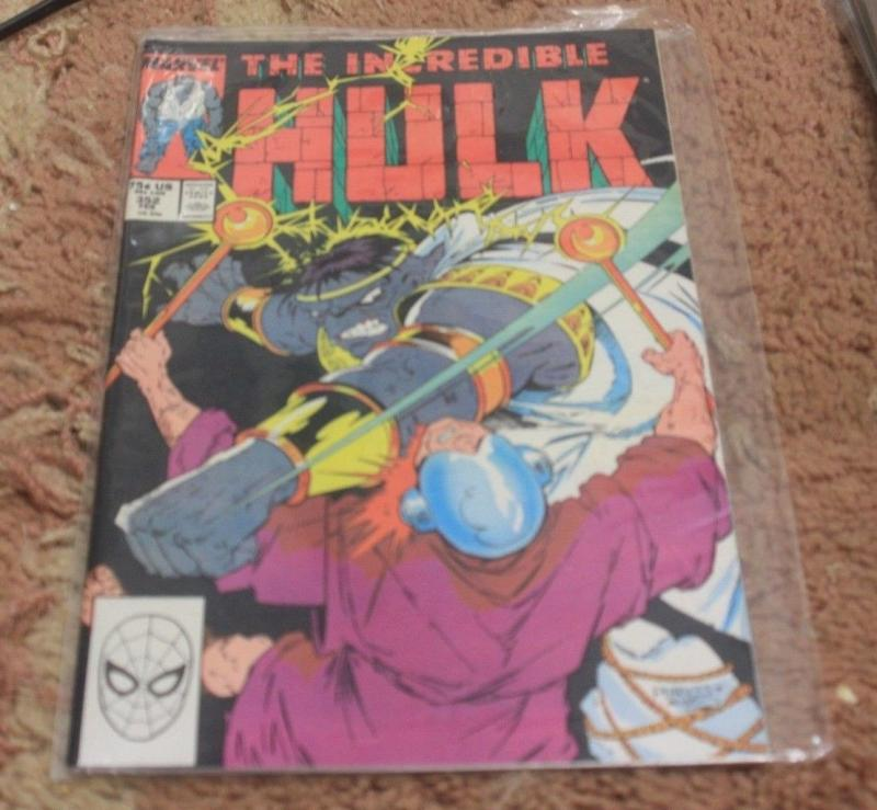 incredible hulk comic # 352   marvel+ MR FIXIT grey hulk vegas