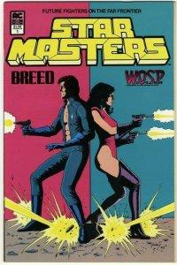 Starmasters #1 Breed/W.O.S.P.- Americomics AC Comics - March 1984