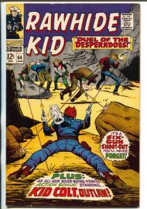 Rawhide Kid #64 1968-Marvel-Kid Colt-Leiber-Trimpe-Kurzrok-VF+