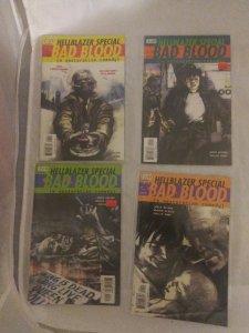 DC Vertigo Hellblazer Special Bad Blood #1-4 (1 2 3 4) complete set Delano VF NM