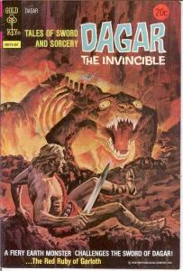 DAGAR THE INVINCIBLE 8 VF-NM   July 1974 COMICS BOOK