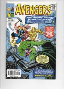 AVENGERS #1 1/2, NM-, Thor, Hulk, Iron Man, Wasp, Dr Doom, 1999