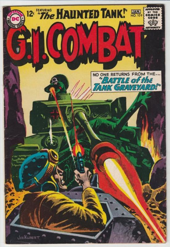 G.I. Combat #109 (May-65) FN- Mid-Grade The Haunted Tank