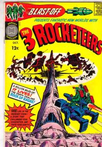 Blast Off, the Three Rocketeers #1 (Oct-65) NM- High-Grade The Three Rocketee...