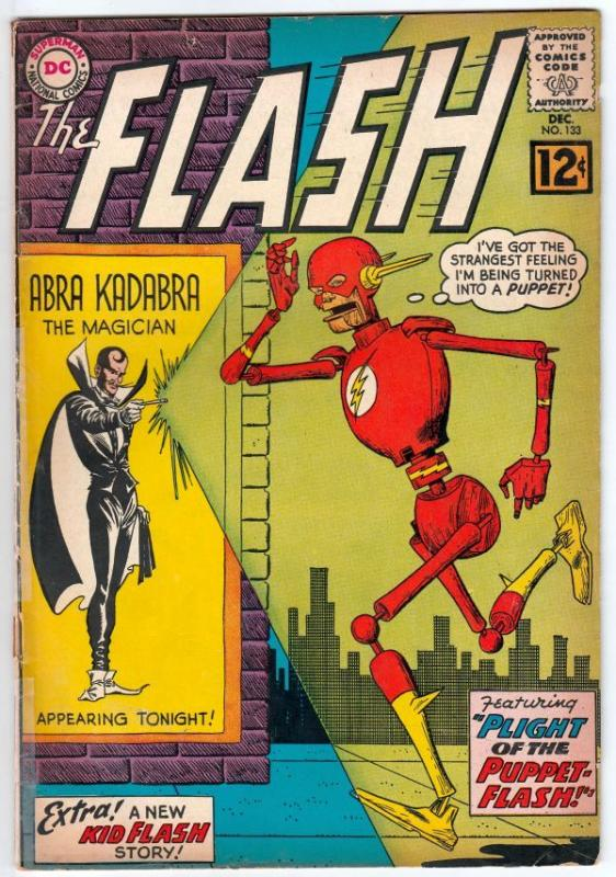 Flash, The #133 (Dec-62) VG+ Affordable-Grade Flash