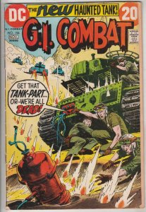 G.I. Combat #156 (Nov-72) FN Mid-Grade The Haunted Tank