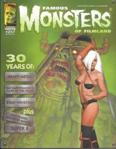 FAMOUS MONSTERS OF FILMLAND #257 HEAVY METAL COVER NM.