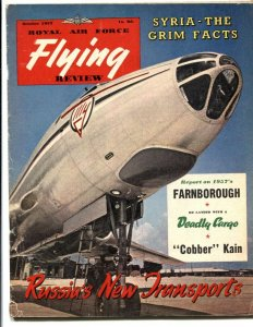 Royal Air Force Flying Review October 1957- Cobber Kain