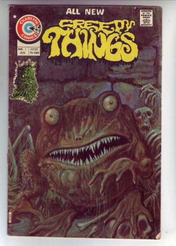 Creepy Things #1 (Jul-75) VG+ Affordable-Grade