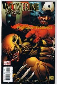 WOLVERINE : ORIGINS #4, VF/NM, Dan Way, Captain America, 2006, more in store