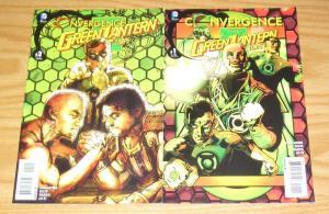 Convergence the Green Lantern Corps #1-2 VF/NM complete series - tony harris set