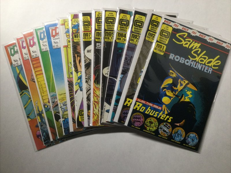 Sam Slade Robohunter 1-29 31 Lot Run Set Near Mint Nm Quality Comics