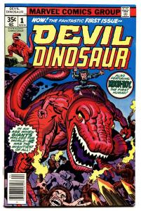 Devil Dinosaur #1 comic book 1st appearance Jack Kirby nm- 1978