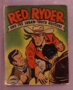 RED RYDER-SQAW-TOOTH RUSTLERS-1946 #1414-BLB-F. HARMAN VG+