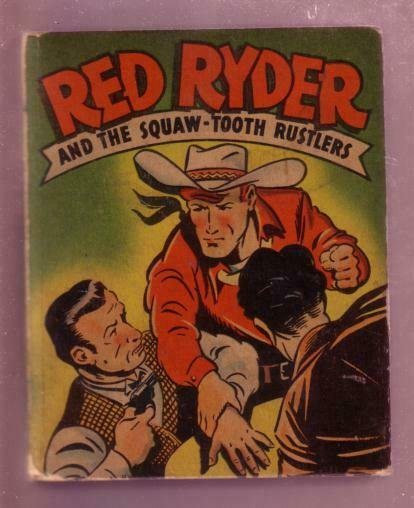 RED RYDER-SQAW-TOOTH RUSTLERS-1946 #1414-BLB-F. HARMAN VG+