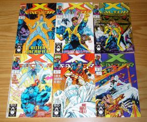X-Factor 63 64 65 66 67 68 VF/NM complete story apocalypse sends cable to future