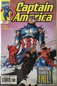 CAPTAIN AMERICA VOLUME 3 1998 MARVEL #10-18 NM CONDITION