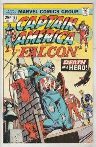 Captain America #183 (Mar-75) VF High-Grade Captain America