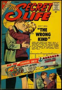 My Secret Life #38 1962- Charlton Romance Silver Age FAIR